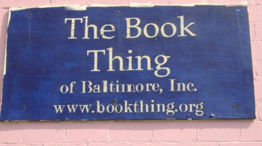 Read for Free at The Book Thing in Baltimore! - blog post image