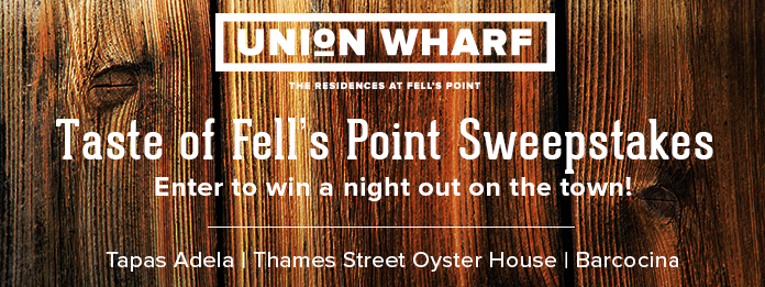 Taste of Fell's Point Sweepstakes - blog post image
