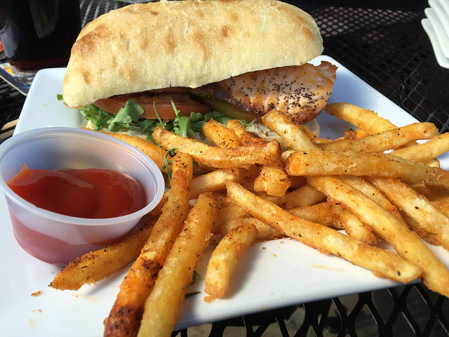 Chow Down On Burgers and Beer with Friends from Union Wharf at Kooper's Tavern - blog post image