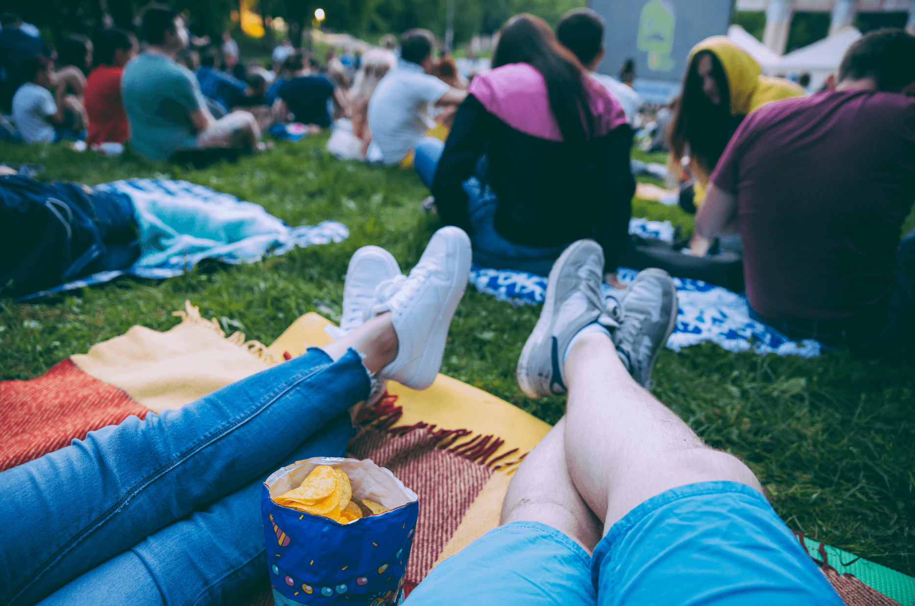 Baltimore's Outdoor Summer Flicks - blog post image