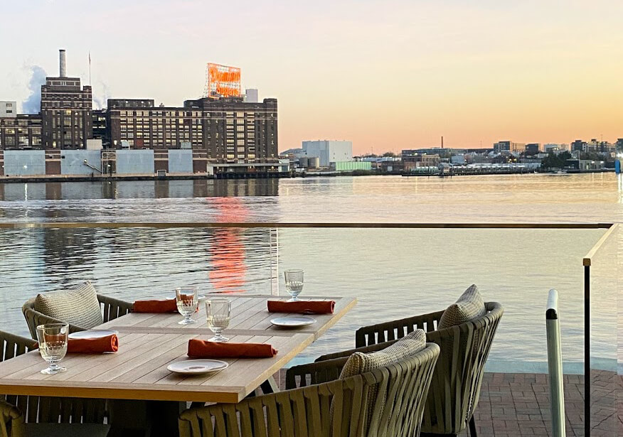 Dinner with a View — Dine Outdoors at these Heated Baltimore Restaurants - blog post image